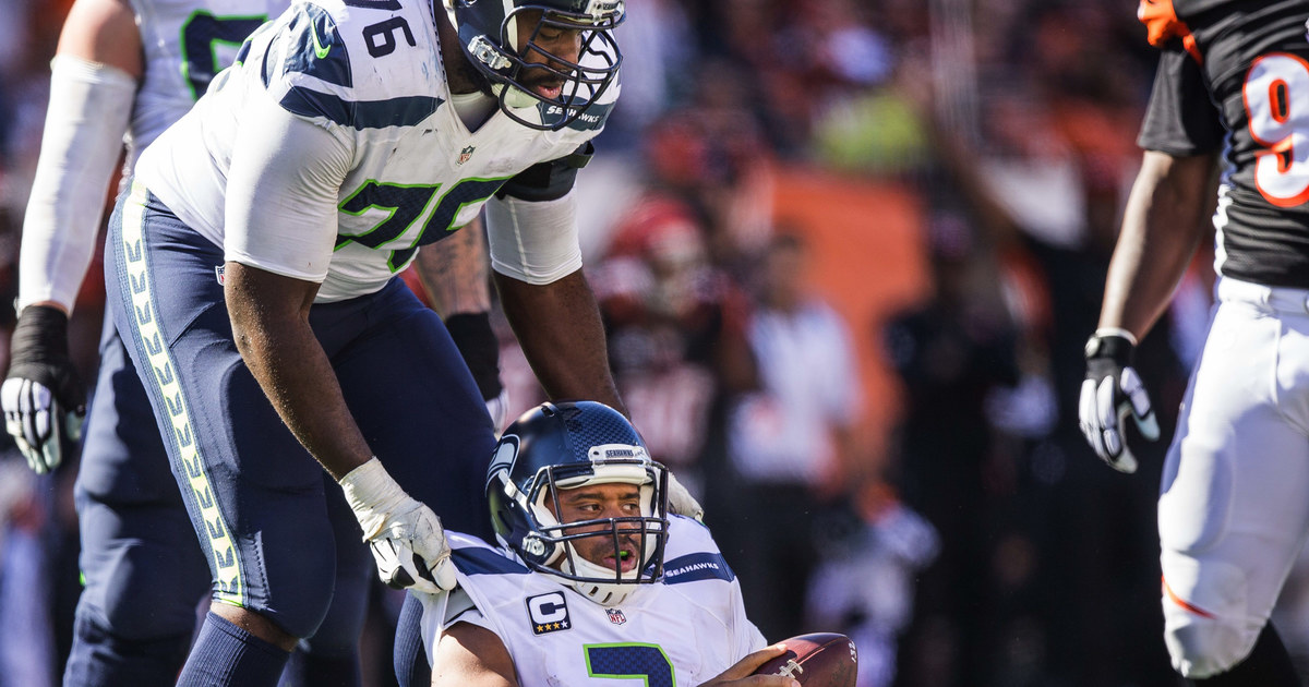 Seattle Seahawks list Russell Okung as doubtful for Sunday's game against Dallas