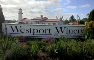 Westport Winery, which is the westernmost winery in Washington, is just eight miles from the Pacific Ocean.