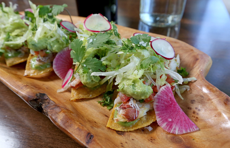 At Gracia, the new Mexican restaurant on Ballard Avenue, everything is fresh and colorful.