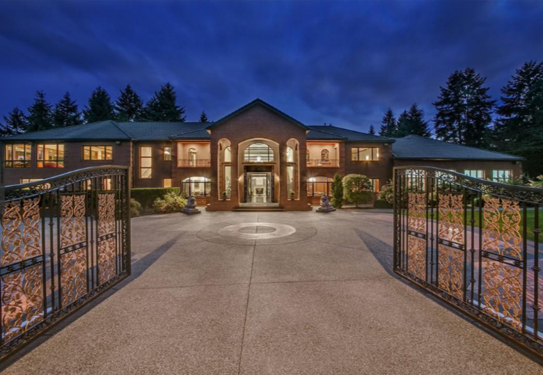 The 10 most expensive real estate listings in washington for Most expensive homes in washington state