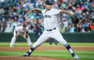 Taijuan Walker brought a 3-6 record and 3.45 ERA into Safeco Field for Thursday night's game with the Orioles. (Dean Rutz / The Seattle Times)