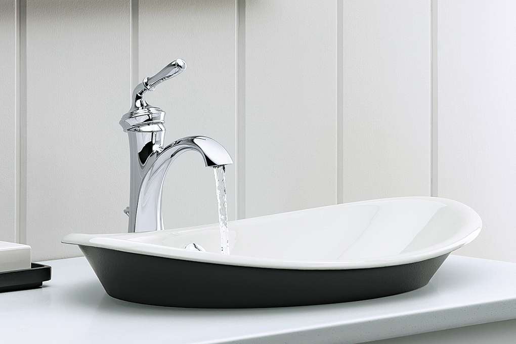 Vessel sinks sit atop the bathroom counter, making them a little higher than a standard sink. (TNS)