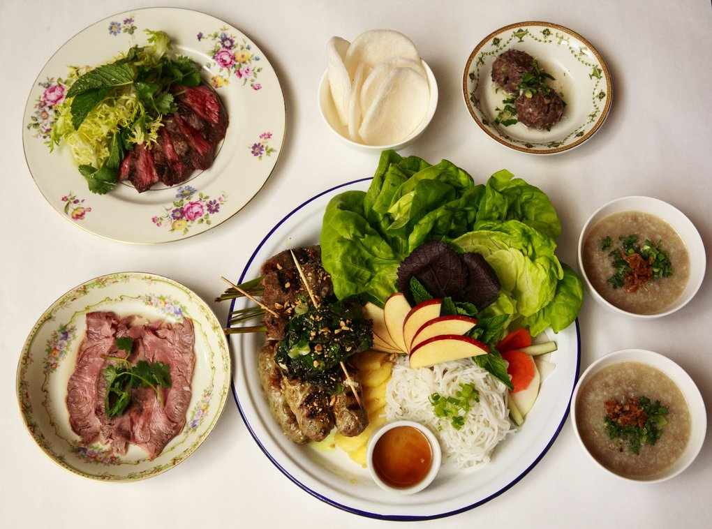 Like steak, but far more interesting: the seven courses of beef at Seven Beef in the Central District. (Erika Schultz/The Seattle Times)