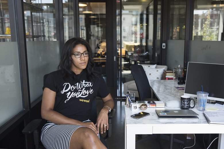 Jessica Eggert, who created her first website at the age of 11, wants to help expand STEM education for women and minorities. (Sophia Nahli Allison / The Seattle Times)