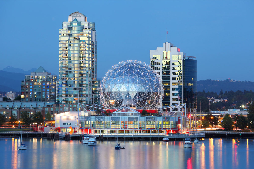 Canada, including Vancouver (shown), is a hot spot for 2017.