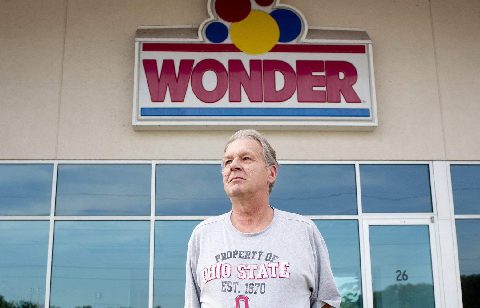 Mark Popovich, 58, who lost his job when Hostess closed a plant in his town, in Northwood, Ohio, Oct. (Laura McDermott/The New York Times)