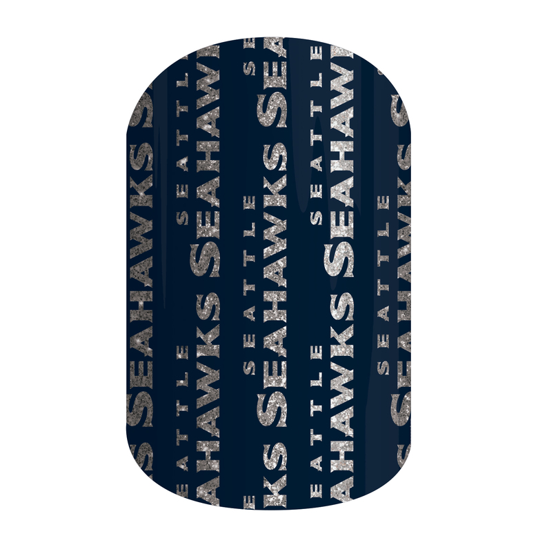 Proclaim your team pride on your nails with these nail wraps from Jamberry. (Courtesy of Jamberry)