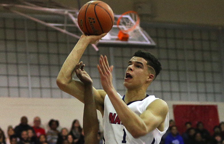 Michael Porter Jr. was named to the top basketball player in Washington. (Johnny Andrews/The Seattle Times)