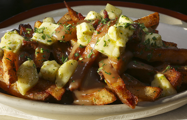 The poutine at Young American Ale House, Wednesday, Jan.