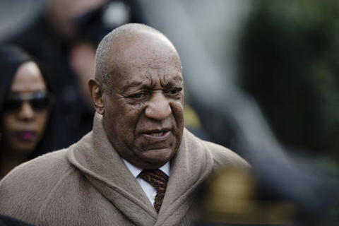 """FILE – In this Dec. 13, 2016, file photo, Bill Cosby departs after a pretrial hearing in his sexual assault case at the Montgomery County Courthouse in Norristown, Pa. Cosby's lawyers hope to prescreen potential jurors to weed out those with opinions about the sex-assault case before jury selection begins in earnest. A defense motion filed Monday, March 20, 2017, says the """"inflammatory"""" worldwide coverage of the case makes it likely that some potential jurors have opinions about the actor's guilt or innocence. (AP Photo/Matt Rourke, File)"""