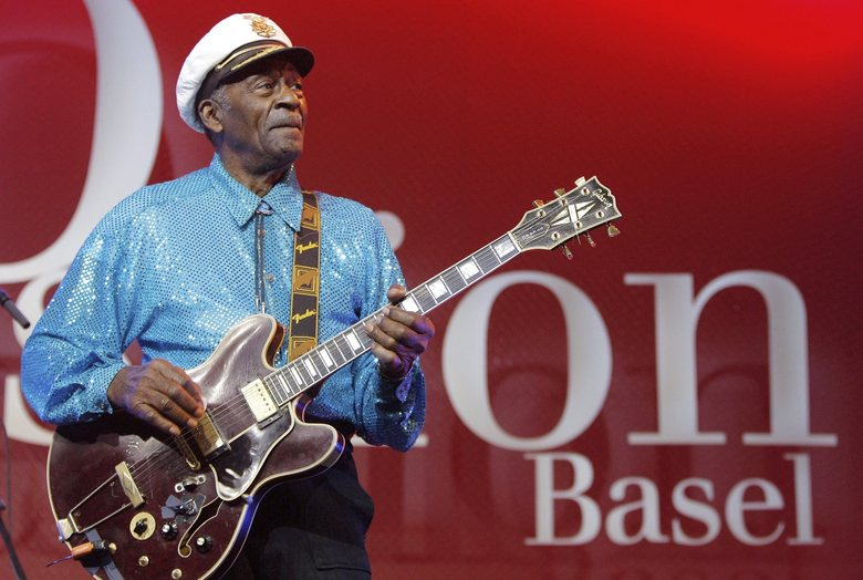 Funeral for Chuck Berry Draws Friends, Fans