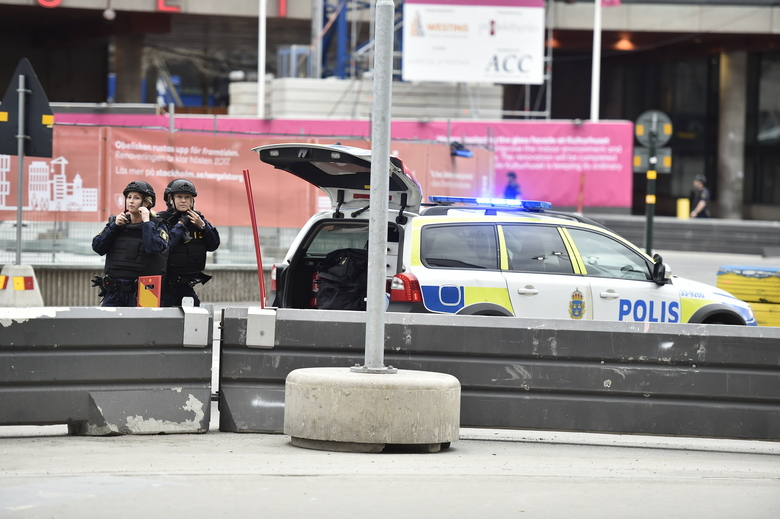 Stockholm Attack Suspect Arrested