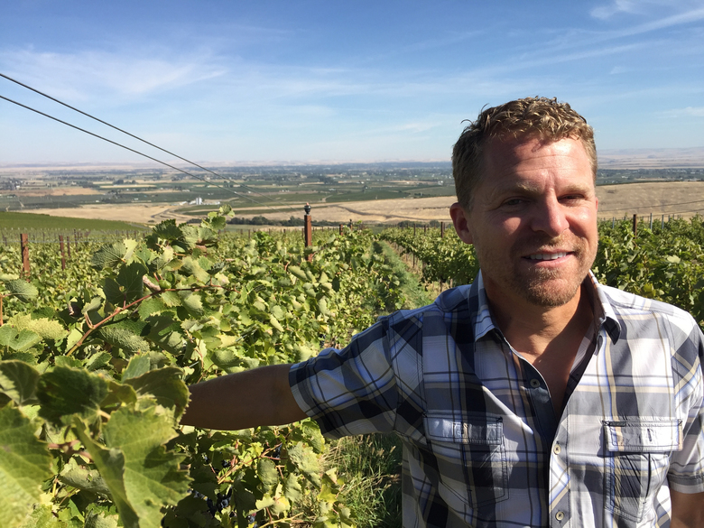 Chris Figgins, owner/winemaker at Leonetti Cellar in Walla Walla, is growing several heritage Italian grape varieties. (Andy Perdue)