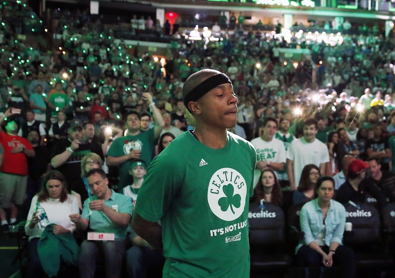 Is Isaiah Thomas playing in Game 2?