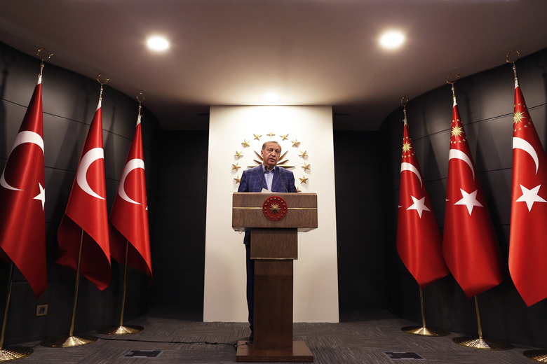 TURKEY - Erdogan hails 'historic' referendum victory, opposition cries foul