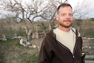 Former military chaplain Don Larsen, near the circle where his fellow Wiccans were to celebrate a seasonal holiday in Schertz, Texas, suffered a crisis of faith when he was serving in Iraq.