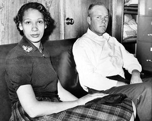 Mildred and Richard Loving were indicted and pleaded guilty to violating Virginia's 1924 Racial Integrity Act.