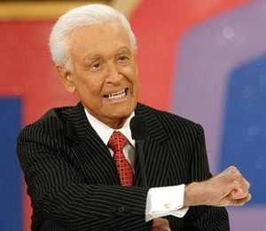 "Game show host Bob Barker interacts with the audience during live taping of the first show of the 35th season of 'The Price Is Right' Thursday, Aug. 31, 2006, in Los Angeles. ""The Price Is Right"" is the longest running game show in television history."