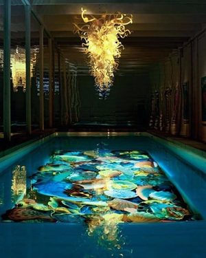 Dress Up The Pool With Chihuly Art The Seattle Times