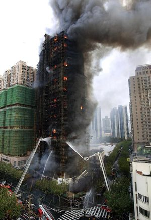 Welders detained in deadly China high-rise fire | The ...