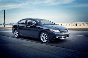 For years, the Honda Civic has been one of the most recommended cars. But the 2012 model, shown here, is not.