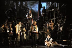 "The company of the new 25th anniversary edition of ""Les Miserables."""