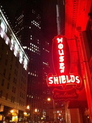 The House of Shields bar opened in 1908 in the Sharon Building, across from the Palace Hotel.