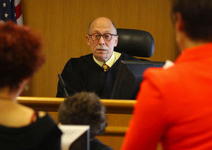 """""""Every judge has to confront the element of risk,"""" says the longtime judge. """"That's what we do."""""""
