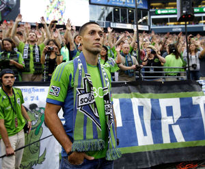 Even during his introduction at CenturyLink Field, Dempsey's roots were obvious in his Texas twang while speaking to the crowd.