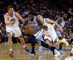 Denver Nuggets guard Nate Robinson has averaged  11.4 points and 3.0 assists over nine seasons in the NBA.