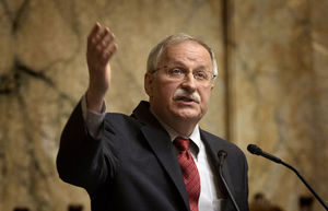 Already   the longest-serving House speaker in state history, Democrat Frank Chopp is running for an 11th term. He represents Seattle's 43rd District.
