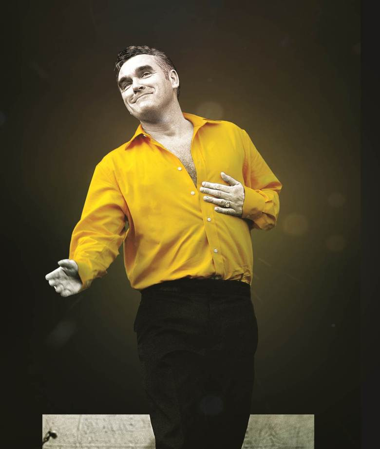 Morrissey performs — or maybe not — at Benaroya Hall Tuesday, July 21.