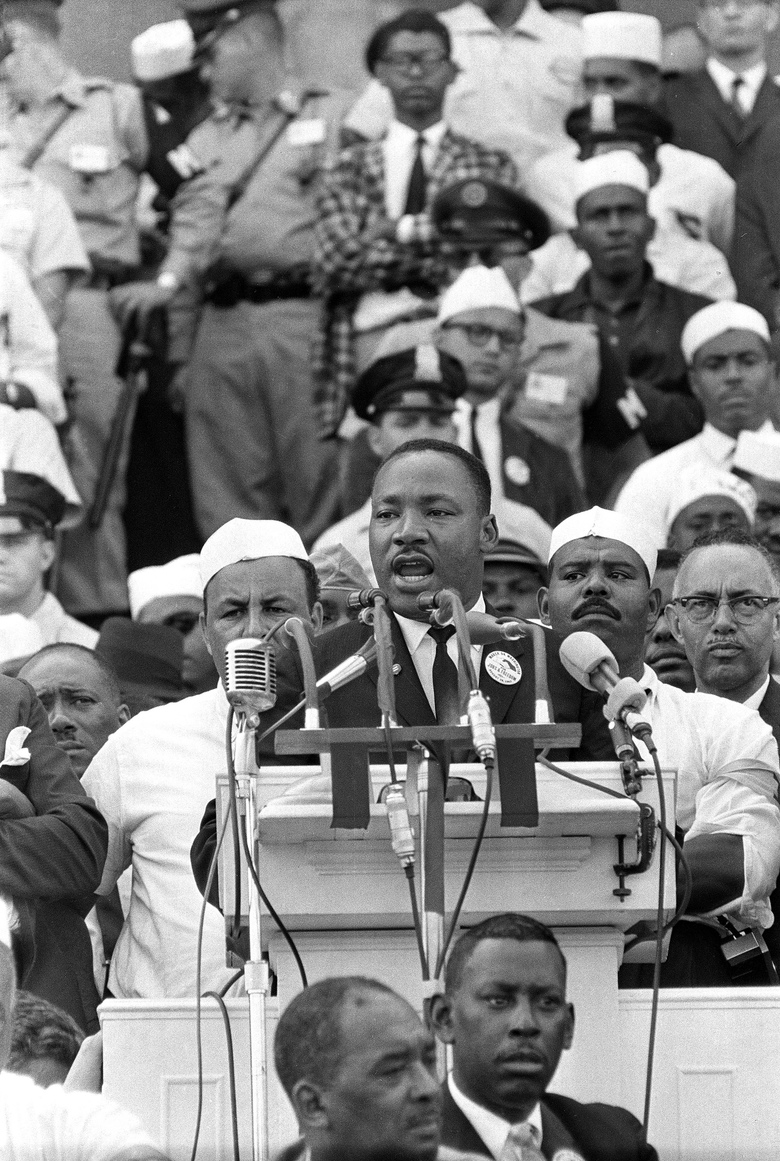 Recording of MLK's 1st 'I Have a Dream' speech discovered ...