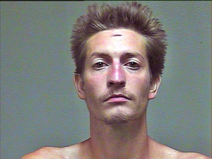 This undated photo provided by the Oklahoma County Sheriff's Office shows Christian Costello. Costello is accused of having stabbed his father, Oklahoma's labor commissioner Mark Costello to death Sunday evening, Aug. 23, 2015, at a fast-food restaurant in Oklahoma City. (Oklahoma County Sheriff's Office via AP)