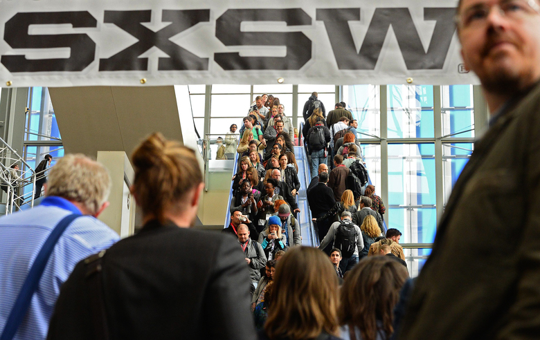 The Austin Convention Center is the site of many South by Southwest events, which offer original music, independent films and emerging technologies.  (LARRY W. SMITH/EPA)