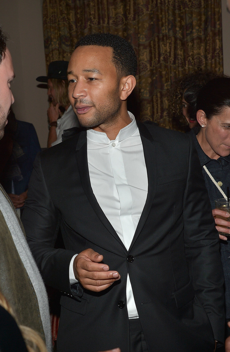 John Legend in Los Angeles on Sept. 24 (Charley Gallay/Getty Images for Vogue)