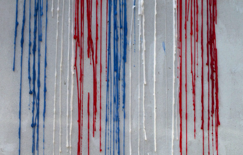 A dripped wax from candles is pictured in front of the French Embassy in Seoul, South Korea, November 17, 2015. More than 130 people were killed and some 350 injured in the terror attacks on November 13, which targeted a concert venue, a sports stadium, and several restaurants and bars in Paris. Authorities believe that three coordinated teams of terrorists armed with rifles and explosive vests carried out the attacks, which the Islamic State (IS) extremist group has claimed responsibility for.  EPA/JEON HEON-KYUN