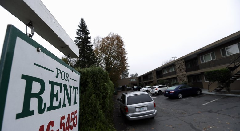 In Portland, a wave of evictions and skyrocketing rents are putting apartments out of reach of many, including those working part-time, low wage or artistic jobs. Some Portlanders are looking for better-paying work and some are giving up and leaving.  (Don Ryan/The Associated Press)