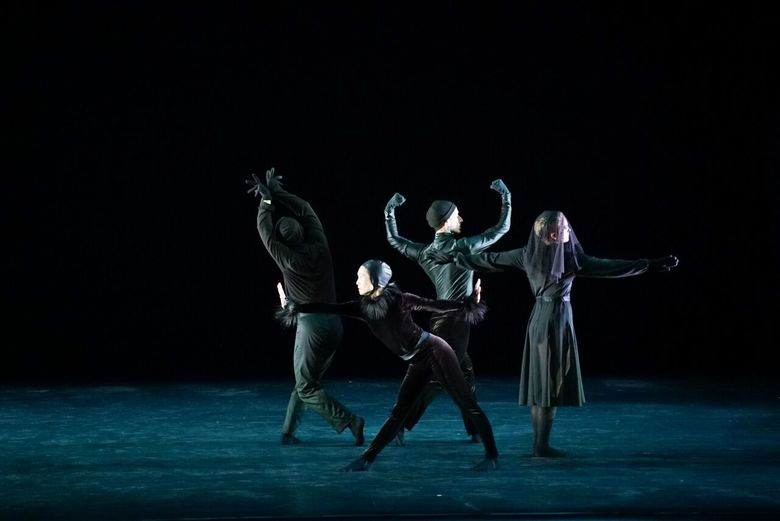 """Mark Morris Dance Group will perform """"Whelm,"""" set to brooding piano music by Debussy, at the Moore Theatre."""