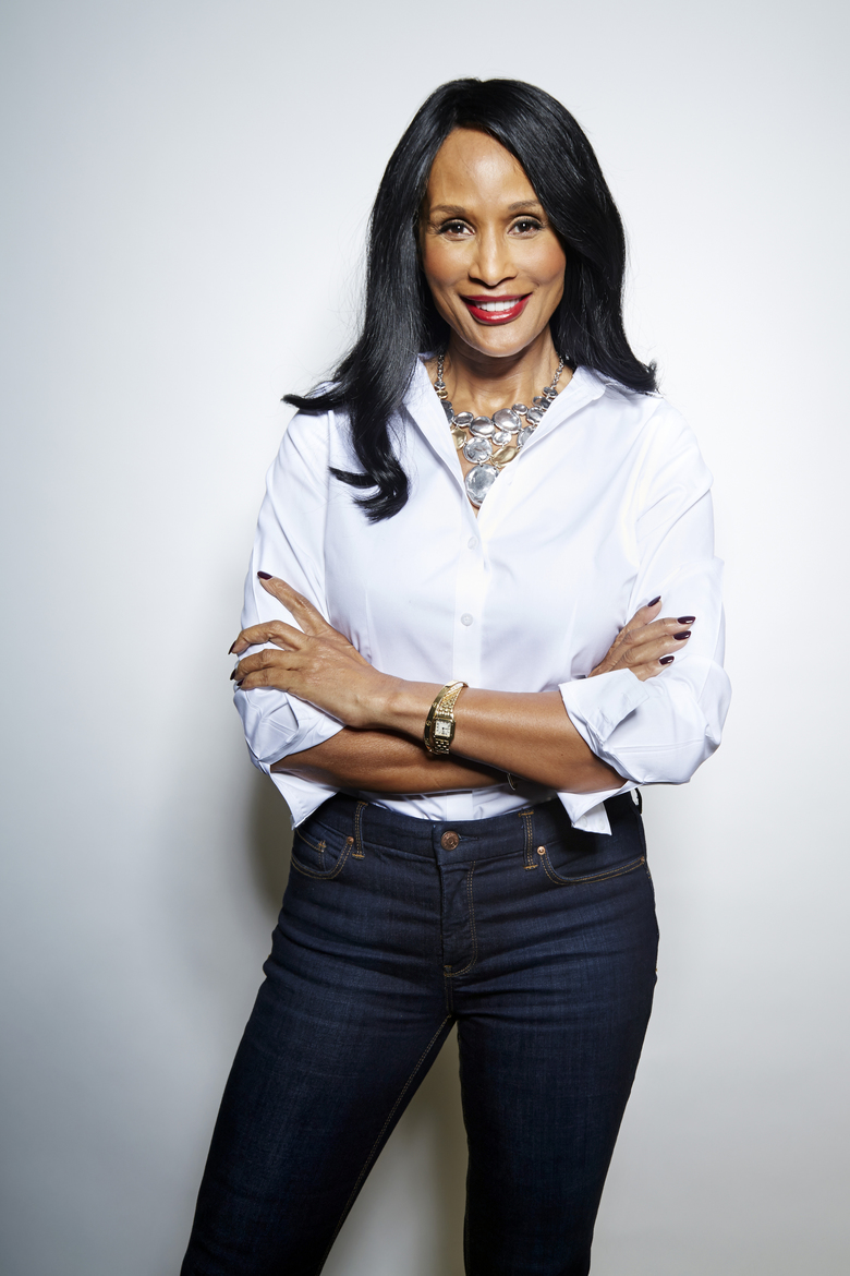 FILE – In this Sept. 8, 2015 file photo, Beverly Johnson poses for a portrait in New York. Cosby sued the supermodel Johnson for defamation in Los Angeles on Monday, Dec. 21, 2015, stating her claims that he drugged and attempted to sexually assault her in the 1980s were fabricated to help further her career.  (Photo by Dan Hallman/Invision/AP, File)