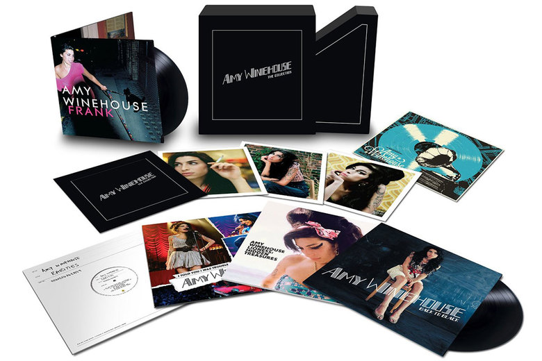 "Amy Winehouse, ""The Collection,"" $160"
