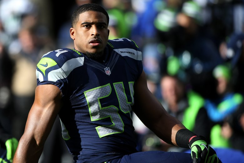 Seahawks linebacker Bobby Wagner asks himself what his late mother would do, and that has helped guide him to an NFL career. (BETTINA HANSEN/The Seattle Times)