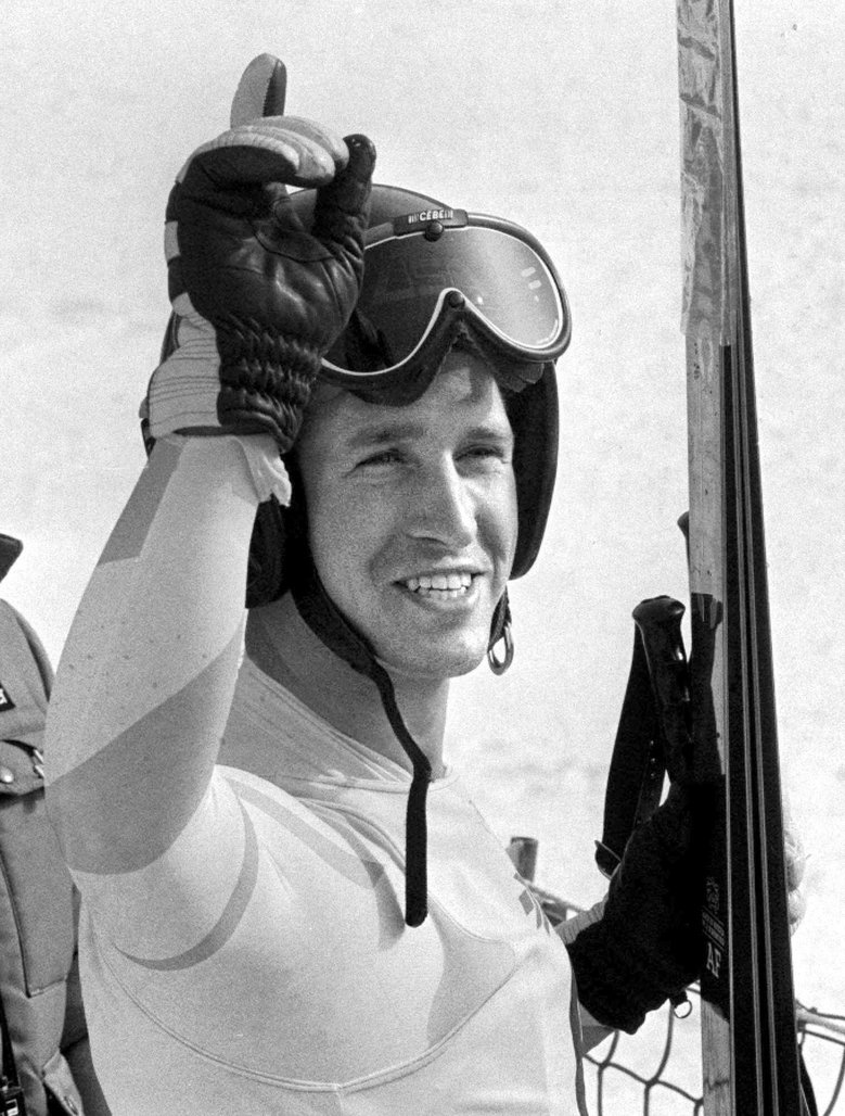 FILE – In this Feb. 16, 1984 file photo, American skier Bill Johnson smiles after he won the gold medal in men's downhill competition at the Winter Olympics games on Mt. Bjelansnica near Sarajevo, Bosnia-Herzogovina.  The U.S. ski team says the former Olympic downhill champion has died after a long illness. He was 55. Megan Harrod, a spokeswoman for the U.S. Alpine team, says Johnson died Thursday, Jan. 21, 2016  at an assisted living facility in Gresham, Ore. (AP Photo/File) NY109