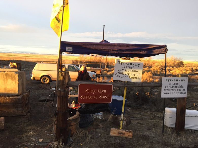 It is uncertain when the Malheur National Wildlife Refuge will reopen once the armed occupation ends. Federal officials will treat the headquarters area, with numerous buildings, as a crime scene and are likely to spend weeks assessing damage and checking for any hazards.  (Hal Bernton/The Seattle Times)