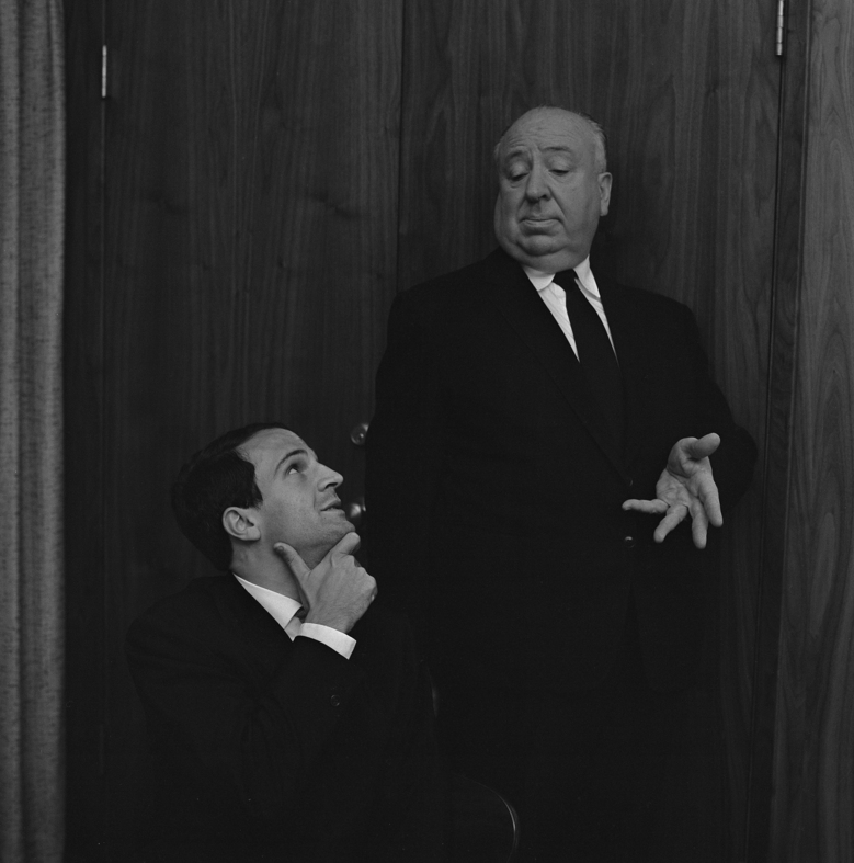 """Hitchcock/Truffaut"" blends footage from Franois Truffaut's 1962 interview of Alfred Hitchcock, right, with commentary from contemporary filmmakers."