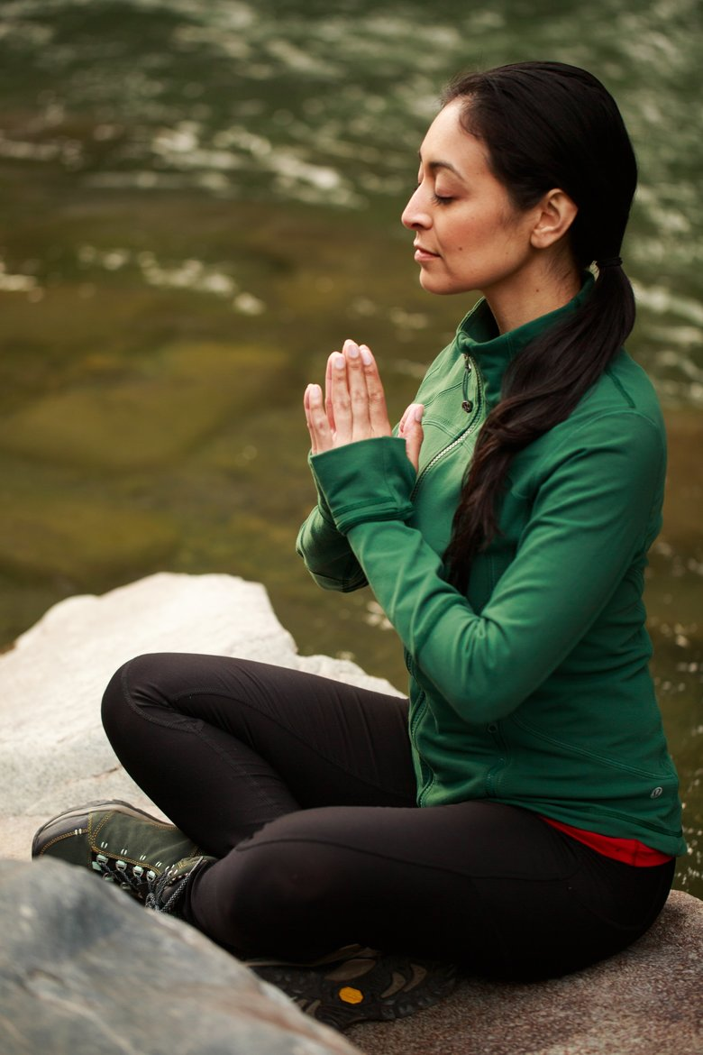 Seated Vinyasa. (Erika Schultz/The Seattle Times)