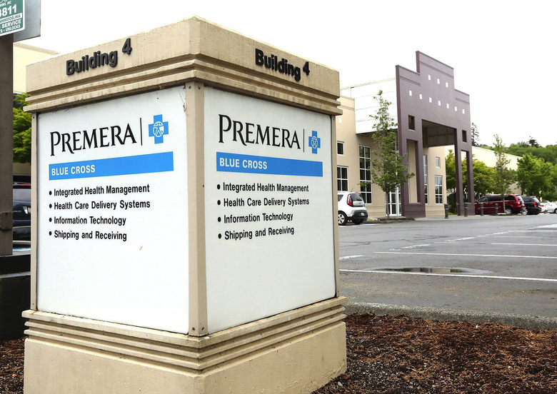Premera, headquartered in Mountlake Terrace, is seeking a 20 percent rate boost for state exchange plans in 2017.  (Greg Gilbert / The Seattle Times)