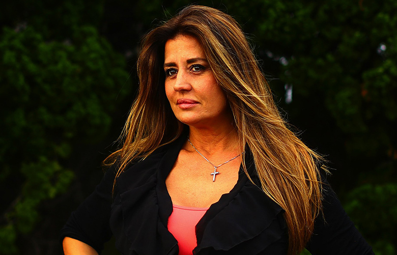 Rowanne Brewer Lane, who dated Donald Trump in the 1990s when she worked as a model, in Wrightsville Beach, N.C., May 9, 2016. Interviews with dozens of women who dated, worked with or for Trump reveal a history of unsettling conduct — unimportant moments to him which left lasting impressions on the women; Brewer recalls him asking her to don a swimsuit and then being showed off by the pool at Mar-a-Lago. (Travis Dove/The New York Times)