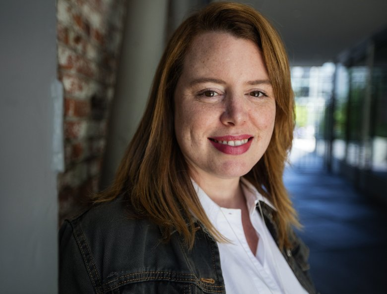 Stephenie Landry leads the Prime Now business, one of Amazon's most important initiatives. She first worked at Amazon in 2003. (Steve Ringman/The Seattle Times)