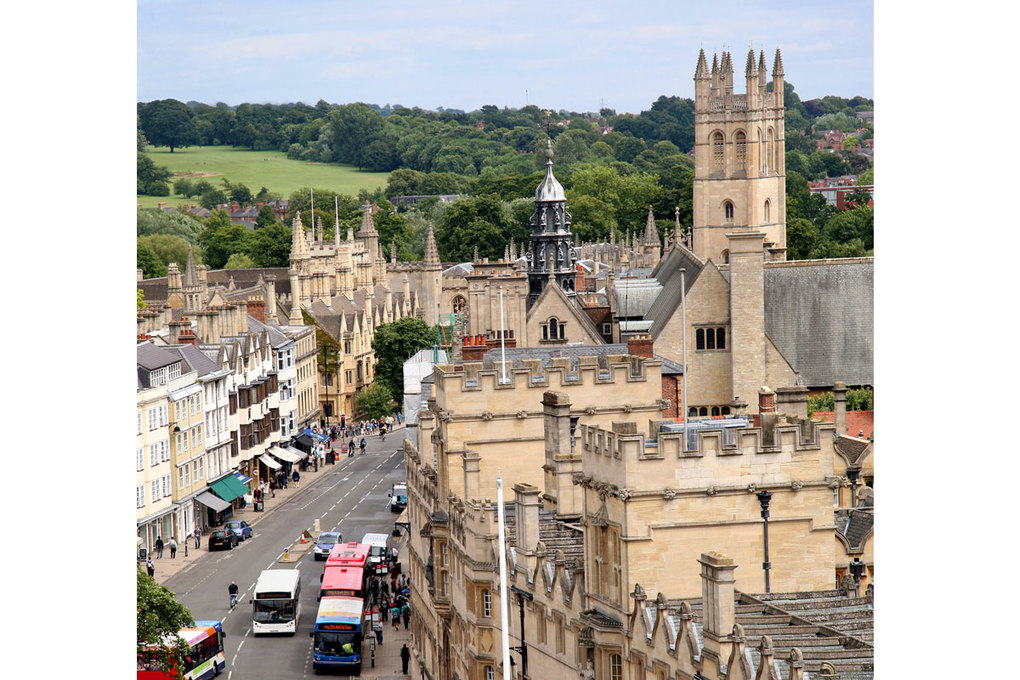 Oxford, England, was home to many great writers.